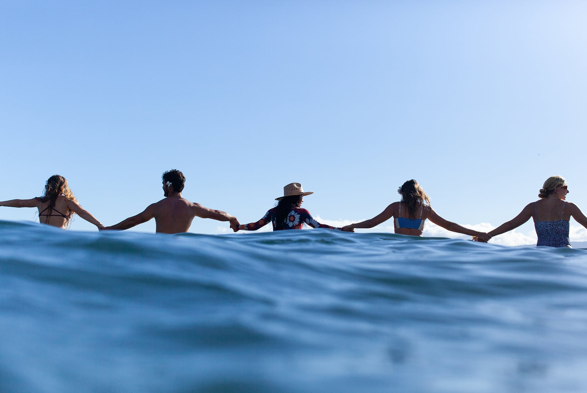 Break Through Waves Paddle Out Ceremony